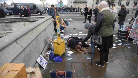 Heridos por apuñalamiento Parlamento Británico