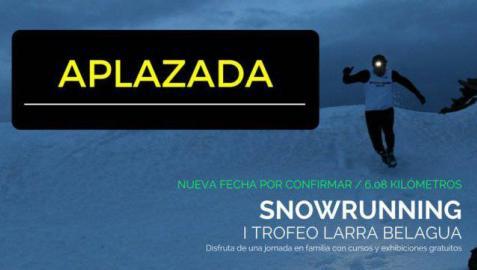 Aplazada la Snowrunning Belagua por la nieve