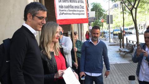 Díaz formaliza su precandidatura con un proyecto