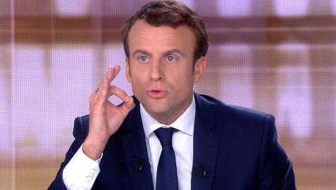 Macron se querella por la información de que tiene una cuenta en las Bahamas