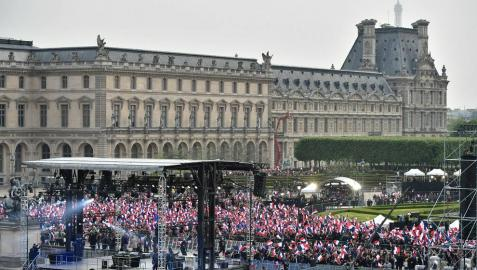 'Le Monde' se suma al boicot a la noche electoral del Frente Nacional