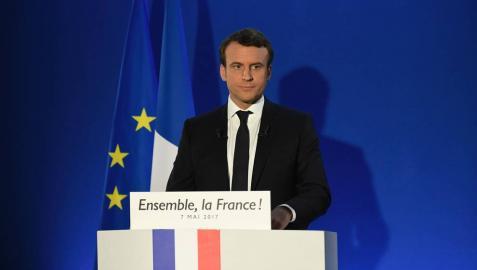 Macron, el candidato improbable, abrió las puertas del Elíseo