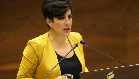 María Solana, nueva portavoz del Gobierno foral