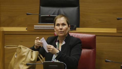 El Congreso acredita que Barkos hizo 320 viajes entre Pamplona y Madrid