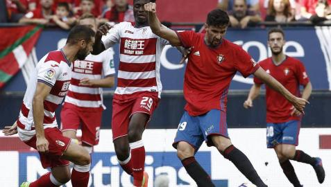 Galería de imágenes del último partido de LaLiga Santander en El Sadar.