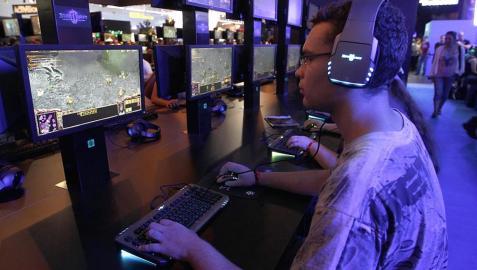 Imágener de la feria Gamescom de videojuegos en Colonia (Alemania)