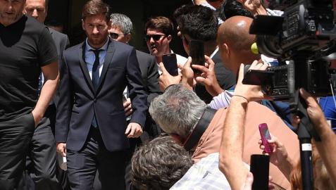 La Fiscalía exculpa a Messi y concluye que el fraude fue
