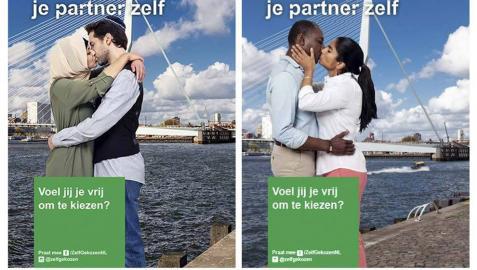 Rotterdam se empapela en defensa de las parejas interreligiosas
