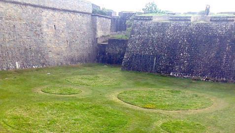 Los fosos de la Ciudadela acogen el primer 'Jardín efímero' de Pamplona