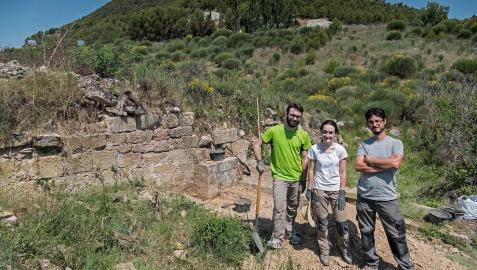 Mañeru desentierra un monasterio del siglo XII, su tesoro más oculto