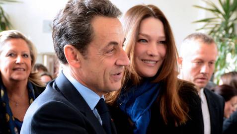 Carla Bruni, sobre su marido: