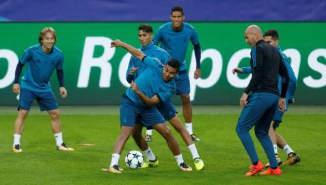 Aubameyang y el Dortmund miden la recuperación del Real Madrid