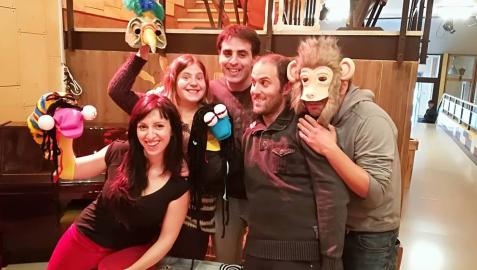 La compañía navarra En Rumbo Teatro estrena 'Planeta Basurilla'