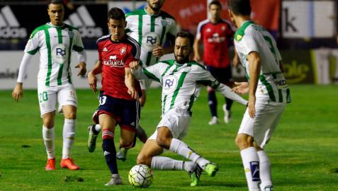Osasuna choca con la solidez defensiva del Córdoba