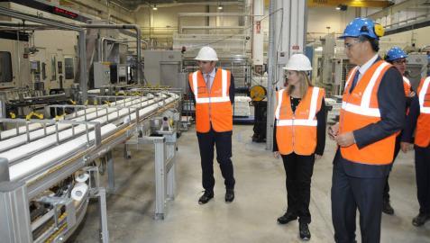 La planta de Sofidel en Buñuel creará 140 nuevos empleos