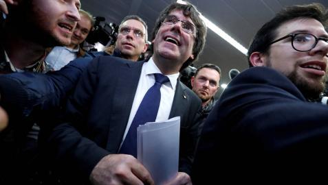 Puigdemont no se presentará ante la Audiencia Nacional, según su abogado