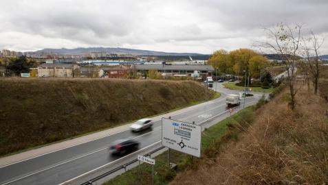 La pasarela peatonal entre Orkoien y Pamplona no se hará por ahora