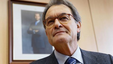 Artur Mas acusa al Estado de vincular soberanismo y violencia