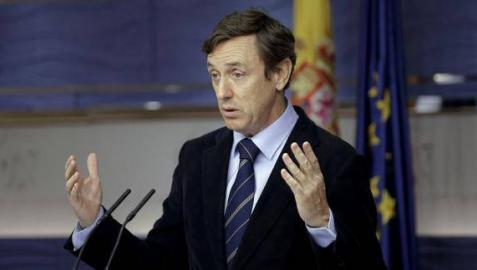 Rafael Hernando, portavoz parlamentario del PP.