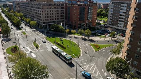 Un documento de la Mancomunidad baraja un parking de 1.200 plazas en Pío XII