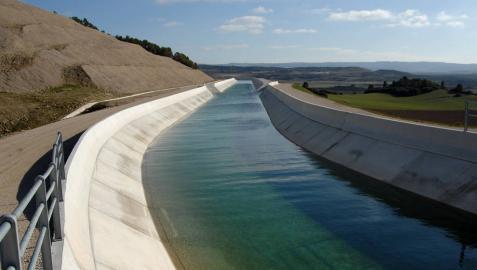 """Bariáin: """"El Canal de Navarra ha sido clave para evitar pérdidas por sequía"""""""