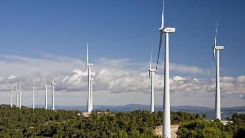 Acciona, primera empresa con servicio de ajuste que aumenta generación eólica