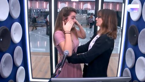 Amaia Romero se derrumba en la recta final de 'Operación Triunfo'