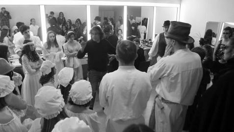La vida tras el telón: en los camerinos de la Ópera de Cámara de Navarra