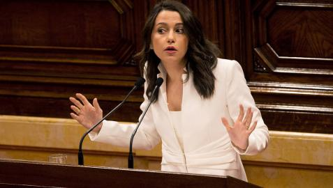 Arrimadas (Cs) dice que Torra no va a dirigir un Govern: