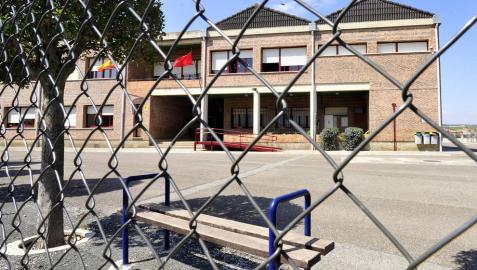 Educación prevé acometer varias mejoras en el colegio de Olite