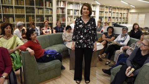 """Clara Usón: """"Sentí mucho tiempo que era una impostora, y ya estoy en paz"""""""