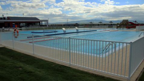 Milagro inaugura sus piscinas tras una inversión de 2,5 millones de euros