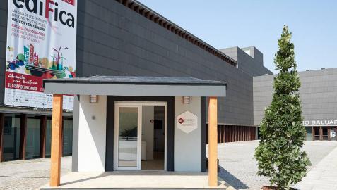 La casa pasiva de la feria ediFica abre sus puertas al público general