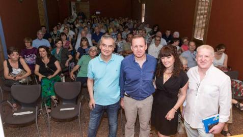 Carlos Aurensanz presenta en Tudela