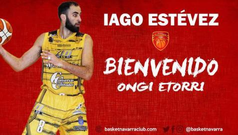 El Basket Navarra ficha al pívot Iago Estévez
