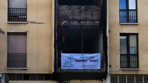 Los vecinos de Puente la Reina no han vuelto a sus casas un año después de la explosión