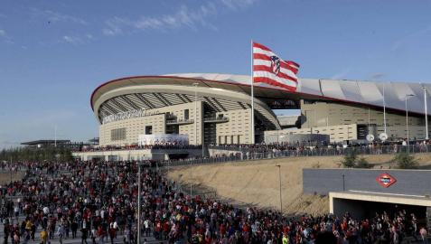 La Justicia madrileña anula el planeamiento urbanístico del Wanda Metropolitano