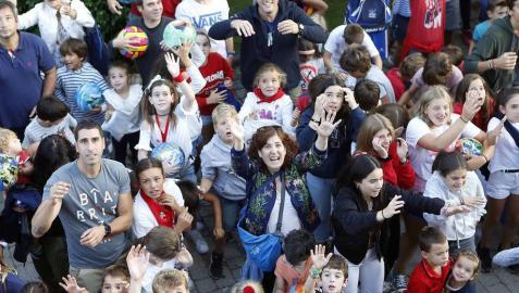 Cizur Menor celebró este jueves, 30 de agosto, su primer día de fiestas