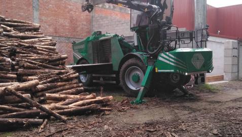 Bera destinará 200 toneladas de pino para calentar edificios públicos