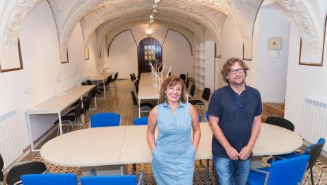 La Escuela-Conservatorio de Tudela presenta su nueva biblioteca