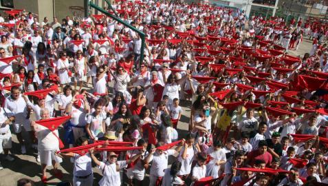 Milagro vuelve a teñirse este sábado de blanco y rojo