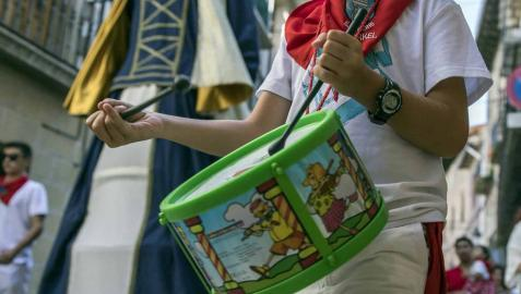 Lumbier celebró este viernes, 31 de agosto, el día grande de sus fiestas en honor a San Ramón