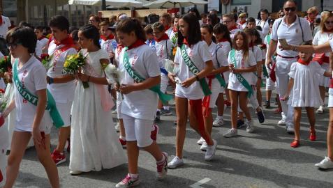 Azagra dedicó este miércoles, 12 de septiembre, a los niños
