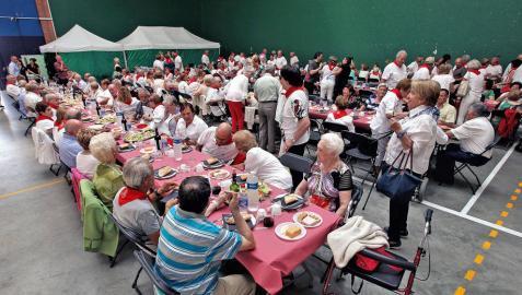 Jornada dedicada a los mayores en Zizur Mayor