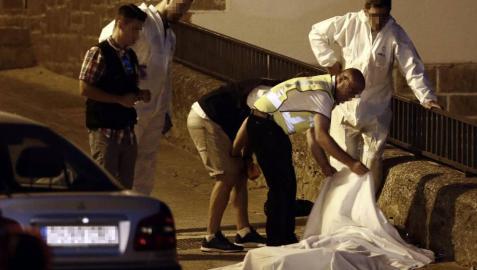 La disputa entre dos familias fue el origen de un tiroteo en la localidad navarra que se saldó con un varón y sus dos hijos muertos por disparos de escopeta.