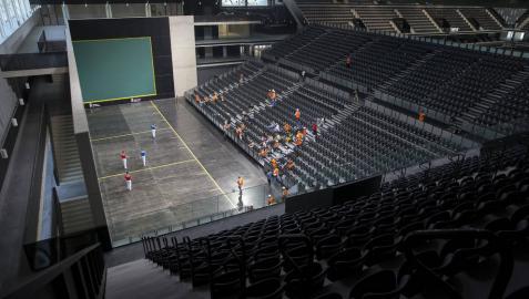 El Navarra Arena se estrenará con lleno