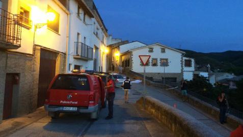 Tres muertos en una reyerta entre dos familias en Cáseda