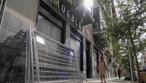Los supermercados ocupan ya los mayores locales del centro de Estella