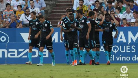 El Lugo le saca los colores a un superado Real Zaragoza