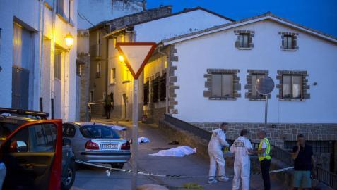 Los testigos señalan al padre como autor de los disparos en Cáseda